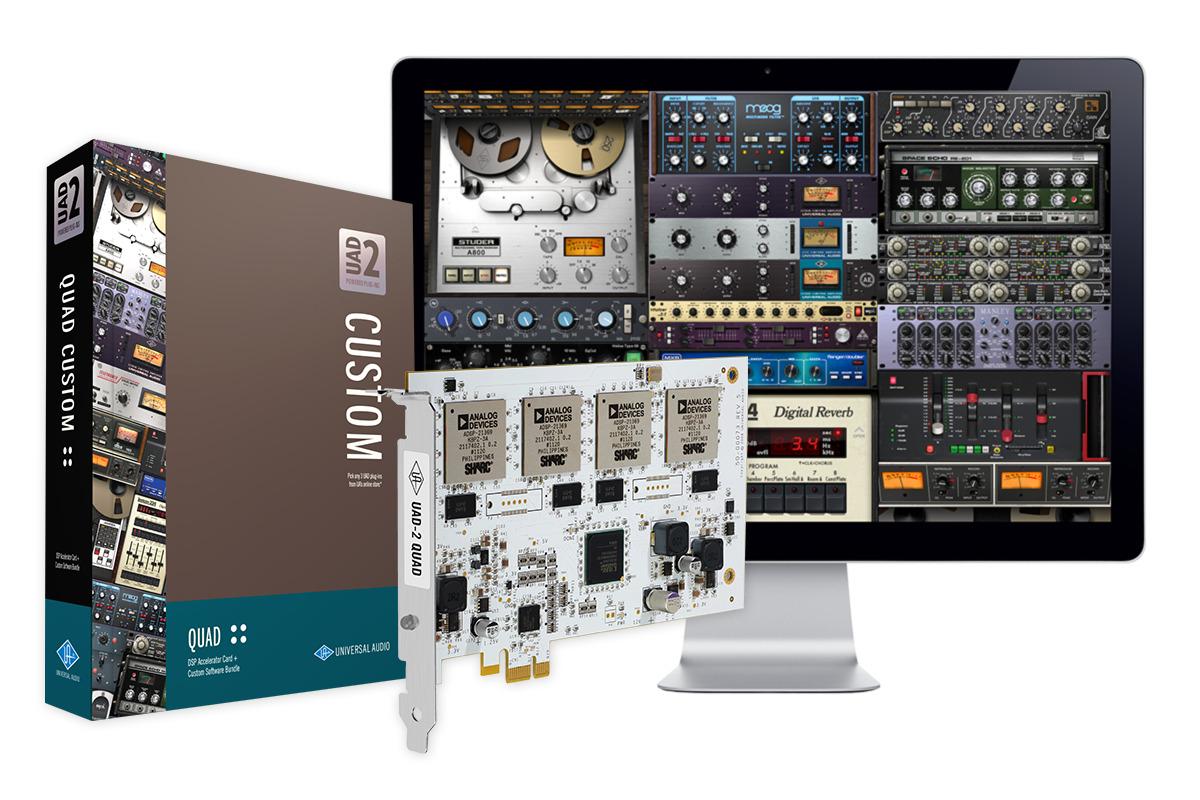 UAD UAD-2 Quad Custom PCIe