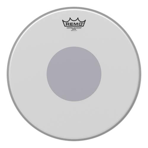 "Remo Ambassador Coated Control Sound CS Black Dot 14"""