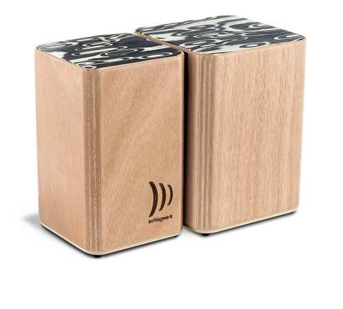 Schlagwerk Wooden Bongos WBS-200