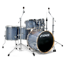 Sonor Select Special Edition Drumset Black Galaxy Sparkle - Showroom-Model