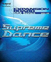 Roland SRX-05 - Supreme Dance - Expansion Card