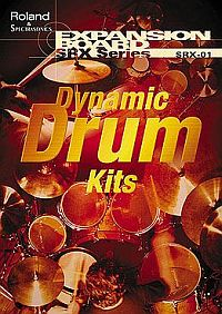 Roland SRX-01 - Dynamic Drums - Expansion Card