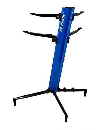 Stay Tower Keyboardständer blau 130cm; 2 Auflagen