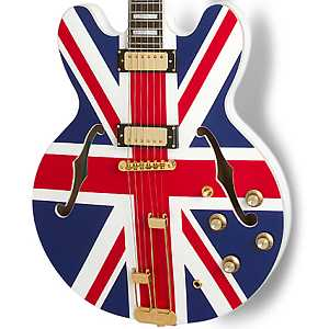 "Epiphone Limited Edition ""Union Jack"" Sheraton"