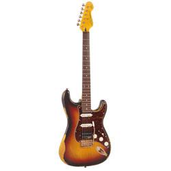 Vintage V6HMRSB E-Gitarre