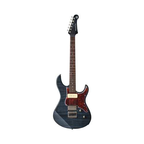 Satz von 12 E Gitarren Top Hat Knöpfen Hellgelb