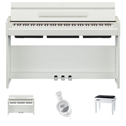 Yamaha YDP-S34 WH Arius Digitalpiano Weiß Matt Set