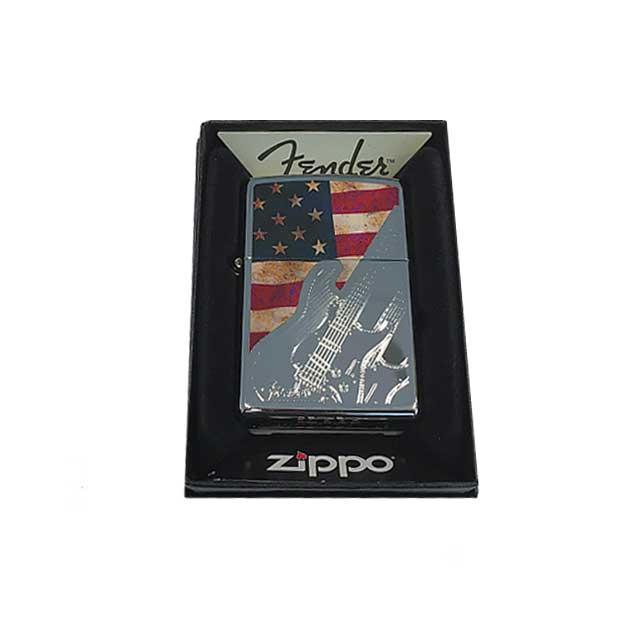 Fender Zippo American Flag