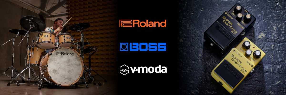 Roland Boss Musikinstrumente Effekte Verstärker