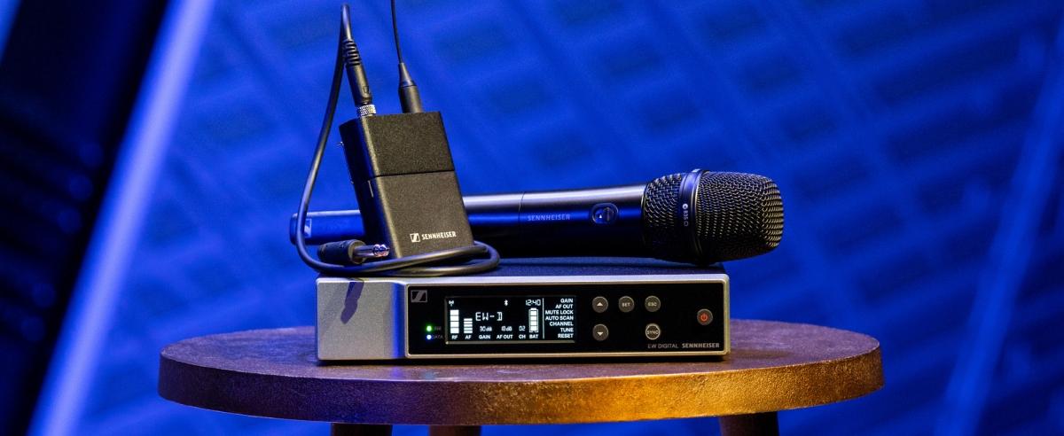 Sennheiser Evolution Wireless Digital EW-D Neuheit news