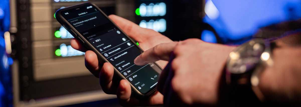 Sennheiser EW-D Funksystem per App