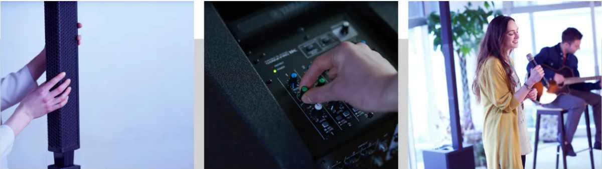Yamaha Monitore Mixer Boxen