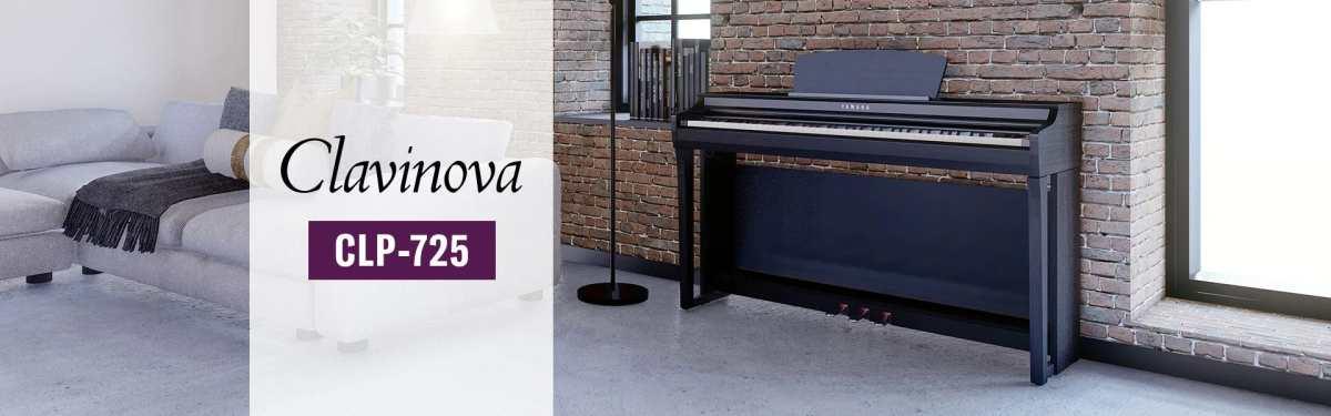 Yamaha clavinova CLP-725 Digitalpianoi E-Piano