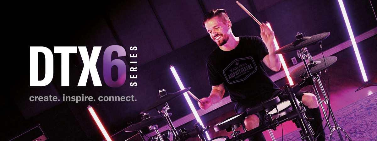 Yanaha New e-drum DTX6